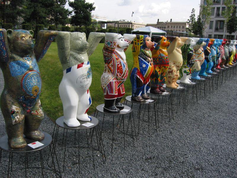 Bärlin, shopping souvenir i bjørnenes by