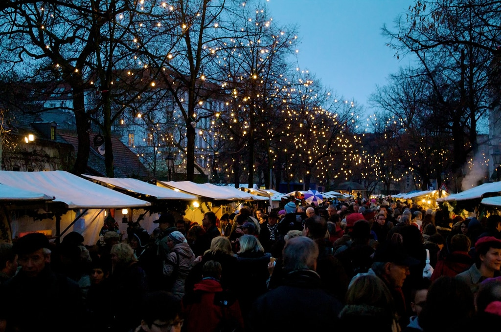 På julemarked i Berlin
