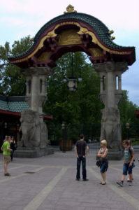 Elefantporten i Berlin Zoo