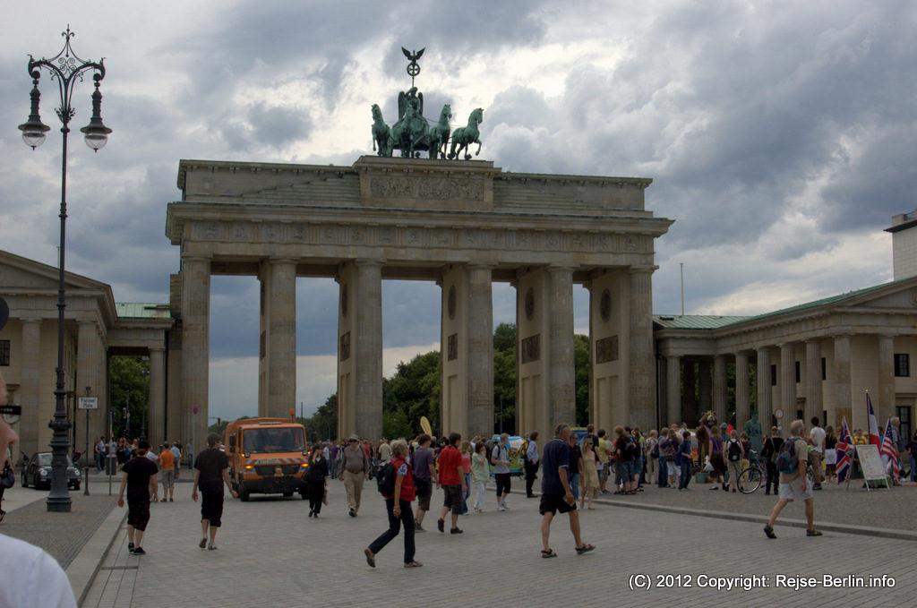Brandenburger Tor, porten mellem øst og vest